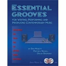 Essential Grooves: for Writing, Performing, and Producing Contemporary Music
