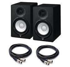 COPPIA Yamaha HS7 Monitor da Studio  95W + CAVI XLR, NUOVI Garanzia Italiana