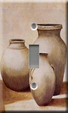 COLLECTION OF POTS SINGLE LIGHT SWITCH PLATE COVER