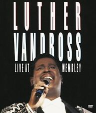 LUTHER VANDROSS : LIVE AT WEMBLEY  -  DVD - UK Compatible - New & sealed