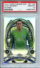 2014 TOPPS CHROME MLS IN FORM #IF-CD CLINT DEMPSEY Seattle Sounders PSA 10 *294