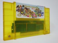 68 in 1 SNES Super Nintendo Multi Cart Game - Zelda TMNT Final Fantasy Mega Man