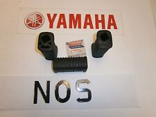 YAMAHA SR500, XS750, XS850, XS1100 - FRAME STAND FOOTREST REAR RUBBERS, COVERS