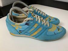 Adidas Sleek Series Blue Trainers Sneakers  Size 4.5 Uk