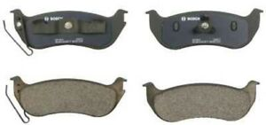 Disc Brake Pad Set-Quietcast Pads with Hardware Rear Bosch BP964