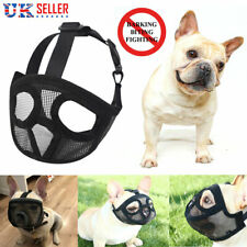 Muzzle For Short Nosed Dog IE Frenchy Bull Boxer Boston Terrier Small Large