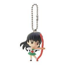 InuYasha Mascot Swing PVC Keychain SD Figure ~ Kagome @3070
