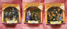 Harry Potter Collector Series Set 3 of 3 2001 Mattel Classic Scenes Collection