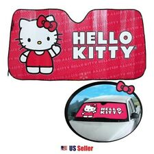 Sanrio Hello Kitty Car Windshield Sun UV Protection Sunshade : Hello Kitty