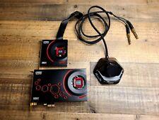 New ListingCreative Sound Blaster Zxr (70Sb151000000) Sound Card- Upgraded