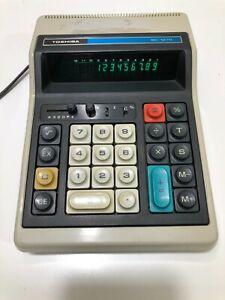 Vintage Toshiba BC-1270 Electronic Calculator Japan 1978
