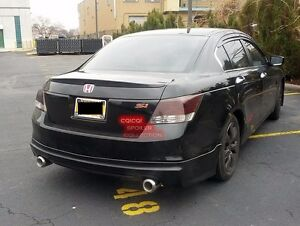 Carbon Fiber Honda 08-12 ACCORD Sedan OEM type rear trunk spoiler ◎