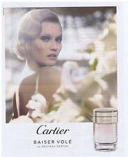 PUBLICITE ADVERTISING 114 2011 CARTIER Baiser volé le nouveau parfum