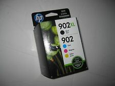 HP 902XL,902 Original Ink  Comb Set 4 colors  New in Box EXP JAN 2019 or Later