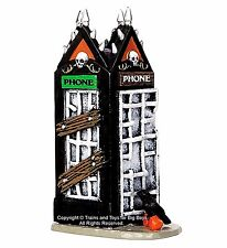 Lemax 44739 SPOOKY PHONEBOOTH Spooky Town Accessories Phone Booth Halloween I