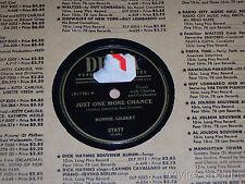 Ronnie Gilbert Flamenco/ Just One More chance 78 Decca 27877 VG+