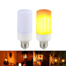 LED Flicker Flame Effect Light Bulb Simulated Burn Fire Festival Party Home Deco