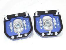 Camber Plates E30 3D 2WAY Drift BMW top mounts blue
