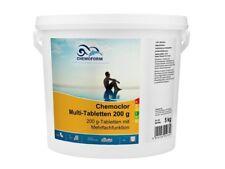 Chemoform Chemoclor Multi-Tabletten 5 kg Chlor Flockung Algenex 200g Tabletten