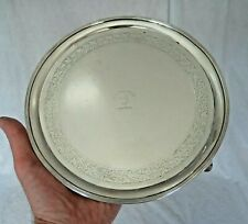 EXCEPTIONAL 18TH CENTURY SCOTTISH SOLID SILVER SALVER CLAN HUNTER PERTHSHIRE