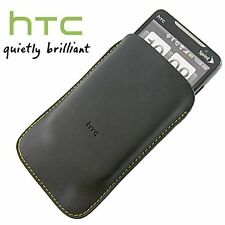 Genuine HTC Leather Pouch Sleeve S510 70H00211-02M - Black HD2