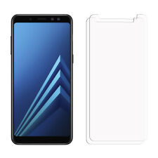 2 Clear Samsung Galaxy A8 PLUS 2018 Screen Protector Film Saver For Mobile Phone