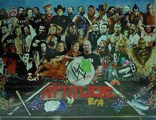 WWE YOKOZUNA/ATTITUDE ERA 2 SIDED CARDBOARD POSTER