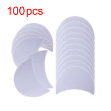100x Eye Shadow Shields Protector Pads For Eyes Lips Makeup Application Tools