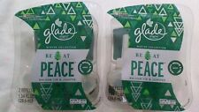 4 Glade BE AT PEACE BALSAM FIR & JUNIPER Refill PlugIns Scented Oil Spruce 2pack