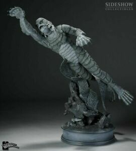 CREATURE FROM THE BLACK LAGOON SSE VERSION PREMIUM FORMAT STATUE SIDESHOW Silver