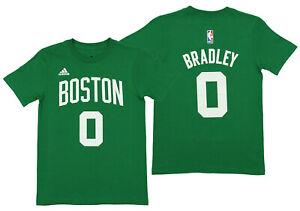 adidas NBA Boys Youth Boston Celtics Avery Bradley #0 Player Tee, Green