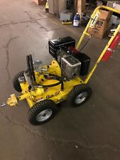 Electric Eel Model 800 Hydrostatic Sewer Cleaner w/ Trailer And Augers