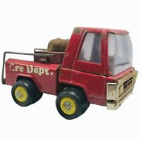 "Buddy L Mr Do Bee Pressed Steel Fire Dept Truck 7"" Made In Japan HTF Vintage"