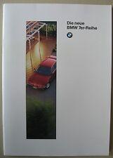 PROSPEKT BMW 7er e38 730i 730i 740i 740il 750i 750il modelli 1995 tedesco