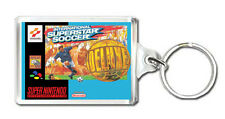 INTERNATIONAL SUPERSTAR SOCCER DELUXE SNES KEYRING LLAVERO