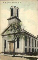 Ellenville NY ME Church c1910 Postcard