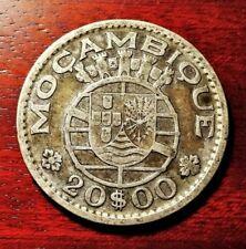 Mozambique 20 escudos 1952 coin (SILVER!)