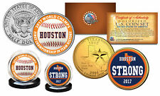 Houston Astros * Houston Strong * 2017 World Champions OFFICIAL U.S. 2-Coin Set