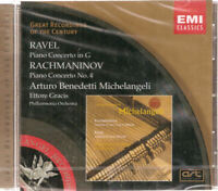 Ravel: Piano Concerto; Rachmaninov: Piano Concerto No. 4 CD New #0920ER