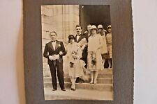Photo année 1930 mariage  N/B Sortie d'église Département La Guerche 18  222/04