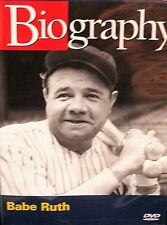Biography Babe Ruth NEW! DVD, A&E  Channel, Baseball ,Yankees, Red Soxes,History