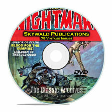 Skywald Publications, Nightmare, Psycho, Scream, 78 Golden Age Comics DVD C73