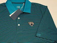 Nwt Men Cutter & Buck Jacksonville Jaguars Polo Shirt Xxl