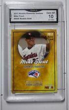 Mike Trout GMA GEM MINT 10 2011 Arkansas Travelers Minor League ROOKIE CARD.