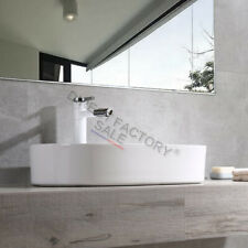 Bathroom Ceramic 520mm Art Basin Vanity Sink Bowl Above Counter Top Oval White