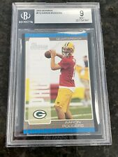 AARON RODGERS 2005 BOWMAN #112 ROOKIE RC MINT BGS 9 GREEN BAY PACKERS