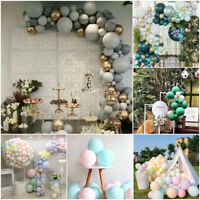 5/10Inch Macaron Latex Balloons Baby Shower Birthday Wedding Party Decor 30pcs