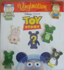 DISNEY TOY STORY VINYLMATION COLLECTORS SET-SEALED-NEW ON THEMED CARD-PIN #80596