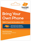 Boost Mobile Expanded Network SIM Card Activation Kit