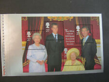 2000 Queen Mother 100th Year - Dx25 panel sheet-Ms2161a